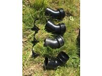 New cast iron soil pipe parts
