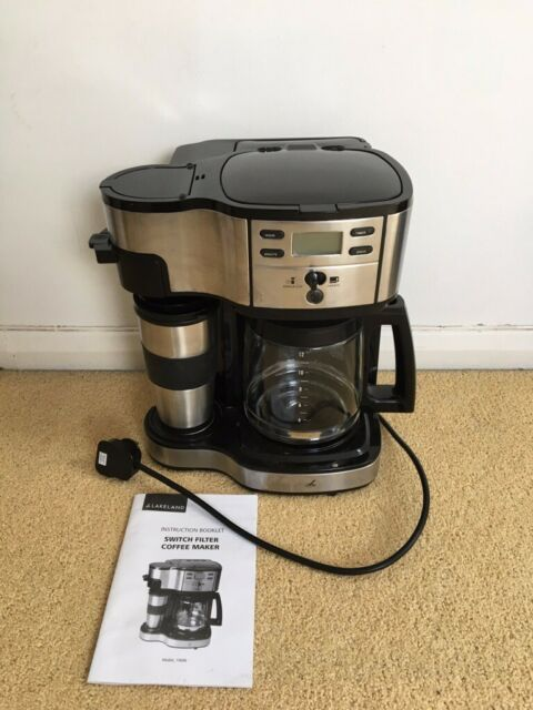 Lakeland Switch Filter Coffee Maker Model 19686 With12 Cup Carafe Travel Cup In Brighton East Sussex Gumtree
