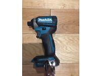 New Makita dtd154 brushless impact drill