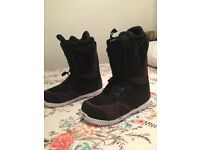 Burton almighty 2018 snowboard boots 10.5 uk size