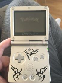 Gameboy advance sp tribal