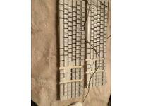 Apple keyboards x2 & mouse