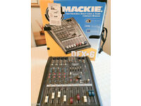 Mackie DFX6 6x2 Mixer with FX Effects - Good Condition Solid Build!