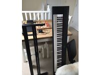 Yamaha Piaggero NP-31 Keyboard with DC power, stool, stand & pedal