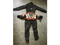Ladies small wetsuit& harness