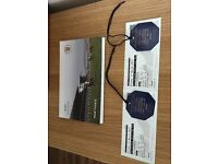 2 TICKETS WITH RESERVED SEATS FOR CHELTENHAM GOLD CUP FRIDAY 17th March