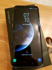 Samsung s8+ plus unlocked full box