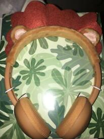 New in box child's loin head phones