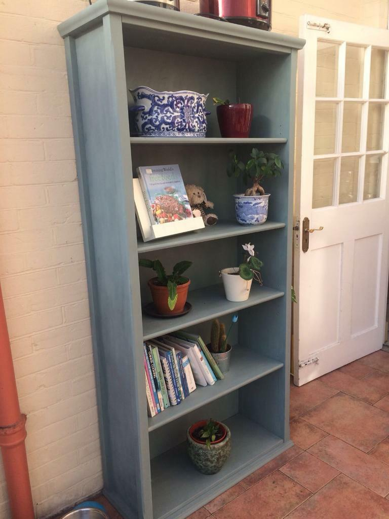 Ikea Bookcase Painted With Annie Sloan Chalk Paint Duck Egg Blue In Lee On The Solent Hampshire Gumtree