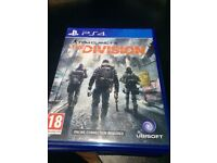 PS4 Tom clansy's The DIVISION