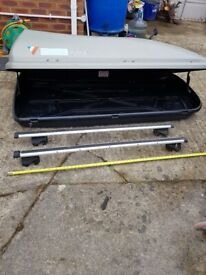 Thule top box and roof bars