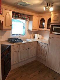 37ft x 12ft 3 bedroom static caravan Lossiemouth