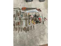 Various tools garage clearout