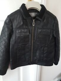 Boys genuine Dior leather jacket (age 6)