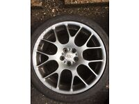 18 inch limited edition Audi wheels 5x100