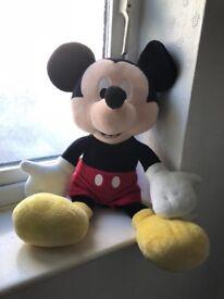Mickey Mouse teddy bear medium size