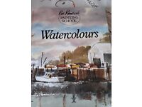 ron ronson's painting school - watercolours