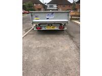 Ifor Williams tipper plant trailer