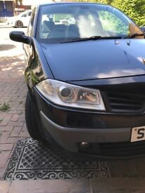 For sale Renault Megan 1.6 petrol 100000 mile good car, next service in 4000 mile full history