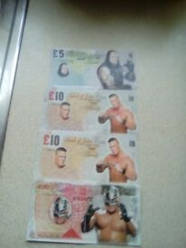 WWE fake money