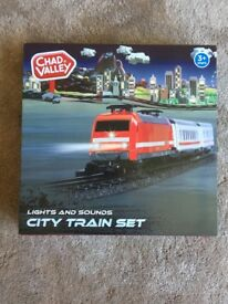 Chad Valley City Train Set. Brand New. In Unopened Box