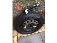 BMW spare wheel 16