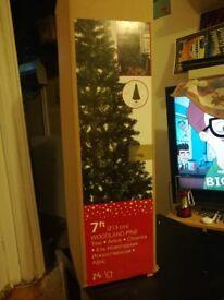 7ft Woodland Pine Christmas Tree