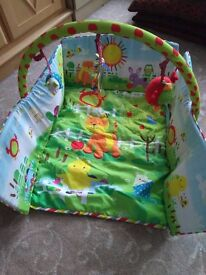 Baby play mat from mothercare