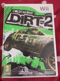 Dirt 2 Wii game