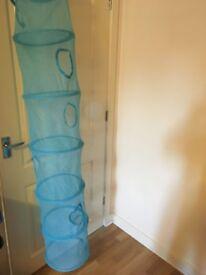 Ikea Blue Children Hanging Storage - 6 Compartments