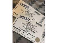 2 x Tokio Myers tickets Leicester