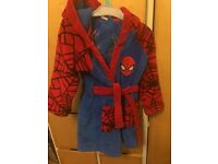 Spiderman dressing gown 2-3 years