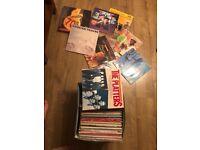 Joblot - more than 80 vinyls