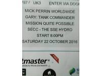Gary tank commander ticket