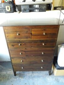 Chest of drawers, 2 over 4