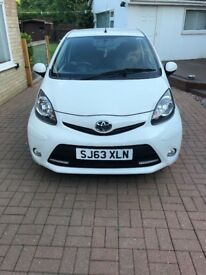 Toyota Aygo 1L white 3 door Free tax
