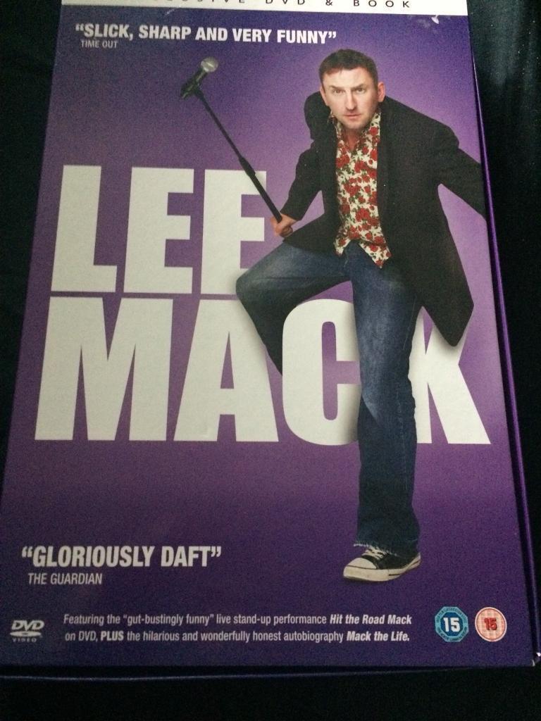 Lee Mack DVD & book gift set