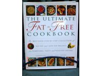 THE ULTIMATE FAT-FREE COOKBOOK - BEAUTIFULLY PRESENTED - HARD-BACK EDITION - CONDITION AS-NEW