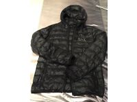 Men's Armani down jacket size medium perfect condition black