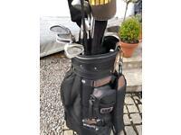 Penn golf clubs in a bag