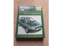 Haynes Peugeot 106 service and repair manual