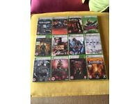 12 Xbox360 Games / THE CHRONICLES OF RIDDICK,Half-Life 2: The Orange Box, Saints Row + MORE