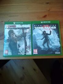 tombraider 1 and 2 for xbox one great con
