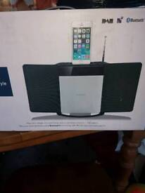 Brand new and in box -Sandstorm wireless speaker Dock