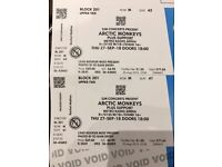 Arctic Monkeys Tickets Newcastle Seated x2 - 27/09/18
