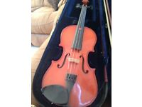 3/4 size violin in good condition with bow and case