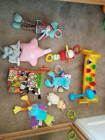 Misc baby toys and pram toys
