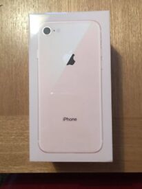 iPhone 8 Gold, Brand New Sealed, Unlocked all networks