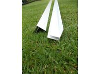 ALLOY 10MM X 3M POLYCARBONATE F SECTION IN WHITE NEW X 2