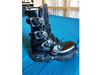 New Rock Reactor Boots (M.391-S1)